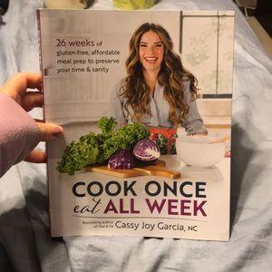 Cook Once Eat All Week Cookbook